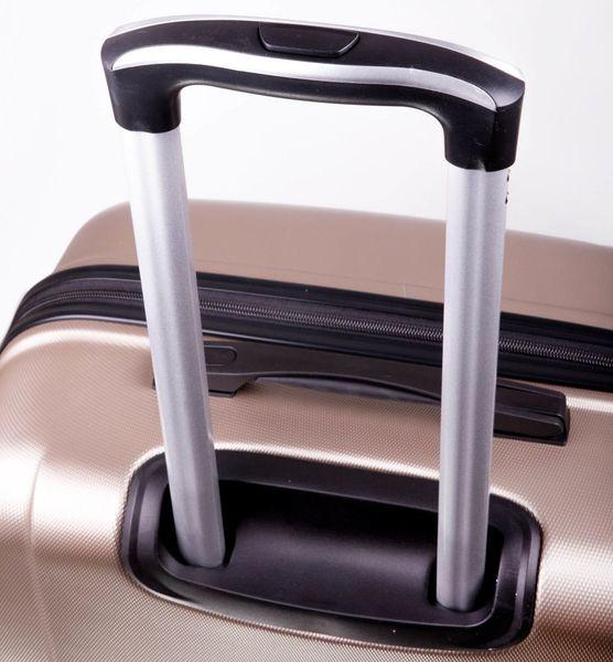 c010879989900 Walizka podróżna duża burgundowa solidna twarda pojemna torba turystyczna  zdjęcie 3