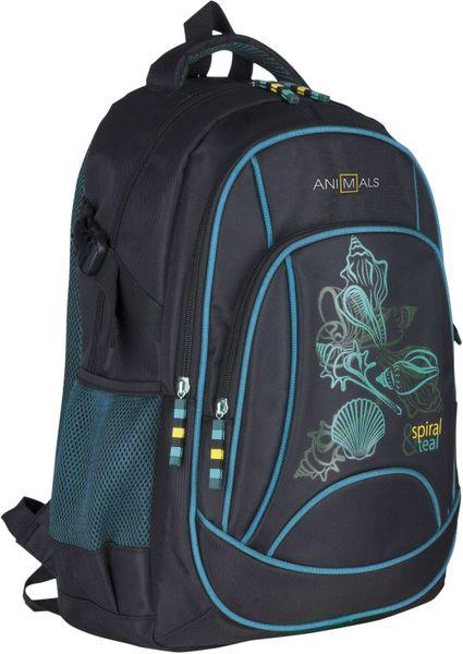 Animals Plecak szkolny młodzieżowy Spiral & Teal AN-05 zdjęcie 1