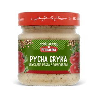 Pasta gryczana z pomidorami bezglutenowa 160 g - PRIMAVIKA