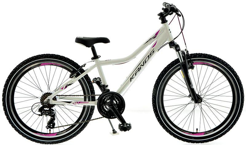 Rower 24 KANDS DRAGON MTB na Komunię BIAŁO-RÓŻOWY 2020 r. na Arena.pl