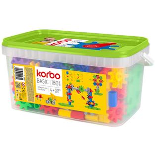 KORBO KLOCKI KONSTRUKCYJNE Basic 180 el.