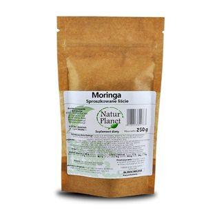 Liście Moringa Proszek Odporność 250g Natur Planet