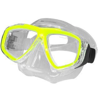 Maska do nurkowania korekcyjna OPTIC Kolor - Nurkowanie - Maski - 18 - żółty
