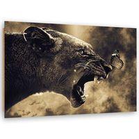 Deco Panel, Pantera z motylem 100x70