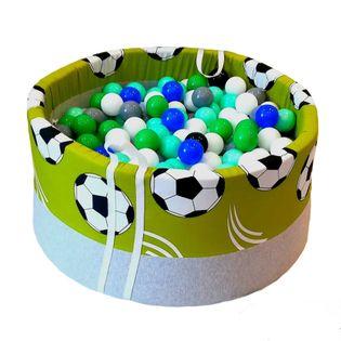 Suchy basen z piłeczkami 200 szt  kojec roczek urodziny prezent