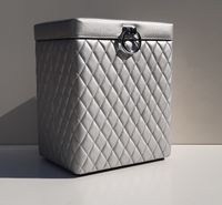 Kufer Kosz na pranie Bieliźniak Pikowany Glamour