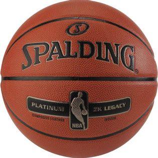 Piłka koszykowa Spalding NBA Platinum ZK Legacy pomarańczowa
