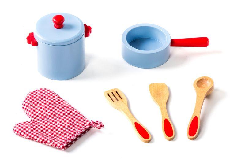 Kuchenka Drewniana Kuchnia Akcesoria W72 Tobi Toys