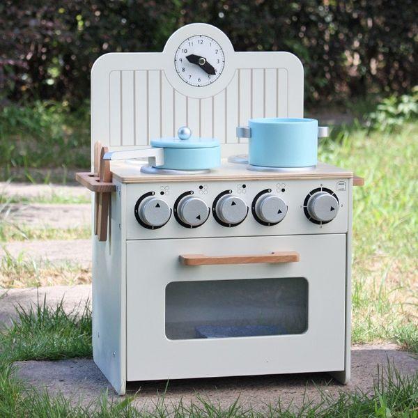 Drewniana Kuchnia Dla Dzieci MINI - ZESTAW NOWOŚĆ zdjęcie 2