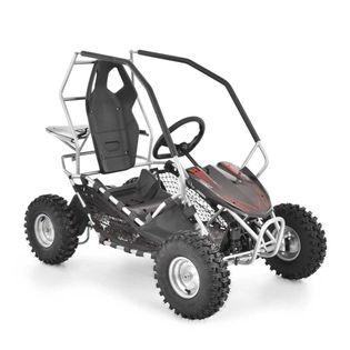 Hecht 54899 Silver Buggy Gokart Akumulatorowy Elektro Quad Samochód Auto Jeździk Pojazd Zabawka Dla Dzieci - Dystrybutor - Autoryzowany Dealer Hecht