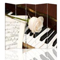 Parawan dekoracyjny, Fortepian 180x180