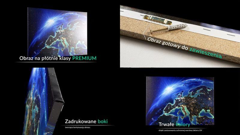 Obraz Na Płótnie - Spacer Park Jesień - 70X50 Cm - Aa70X50-2914 na Arena.pl