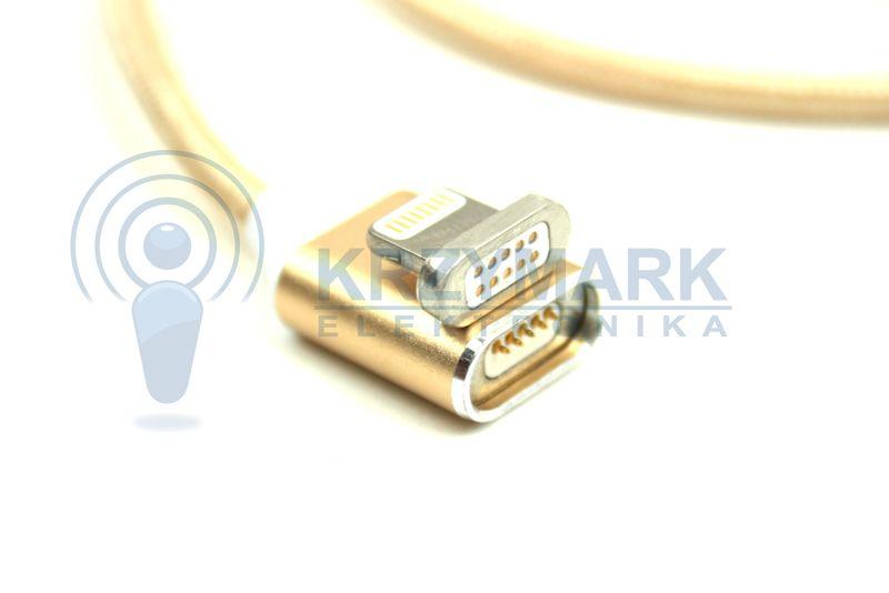 KABEL MAGNETYCZNY IPHONE USB 5 6 7 S 1M 6S zdjęcie 4