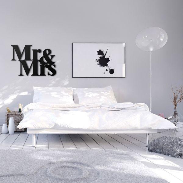 NAPIS NA ŚCIANĘ 3D dekoracyjny DO SYPIALNI OZDOBNY zdjęcie 3