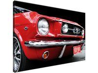 Obraz drukowany Red Mustang - Y 90x60 cyfrowy