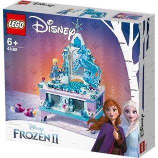 LEGO DISNEY FROZEN Szkatułka biżuterię Elsy 41168