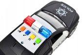Samochód policyjny Radiowóz interaktywny dźwięki i światła Y259 zdjęcie 4