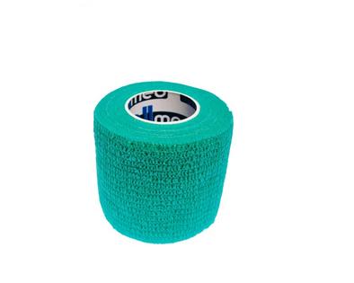 Bandaż kohezyjny samoprzylepny 2,5cm x 4,5m zieony