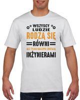 Koszulka męska Dla inżyniera S Biały