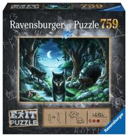 Ravensburger Puzzle EXIT Historie o wilkach 759 el.
