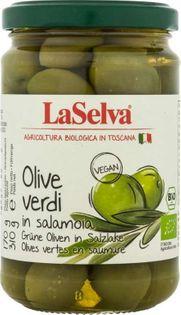 Oliwki zielone w zalewie BIO 310 g Laselva