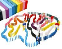 Mega Domino Zabawki Drewniane Klocki 1000 elementów Z391
