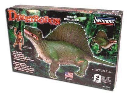Model Plastikowy Do Sklejania Lindberg (USA) Dinozaur Dimetrodon