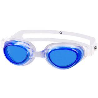 Okulary pływackie AGILA Kolor-Okulary - 61 - transparent / niebieskie szkła