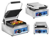 Grill kontaktowy - 1800 W wyświetlacz LED Royal Catering RCKG-2200-GY
