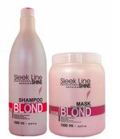 Zestaw Stapiz Blush Blond szampon 1L + maska 1L