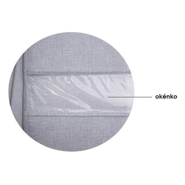 Pokrowiec na ubrania garnitur 100x60cm zdjęcie 2