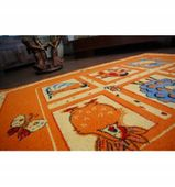 Dywan FRYZ RANCZO mandarin 140x190 cm