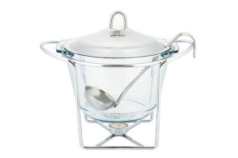 Podgrzewacz żaroodporny waza 4,1l kinghoff kh-1413