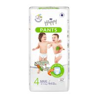 Pieluchomajtki dla dzieci Happy Pants Maxi 8-14 kg Folia 44 szt.