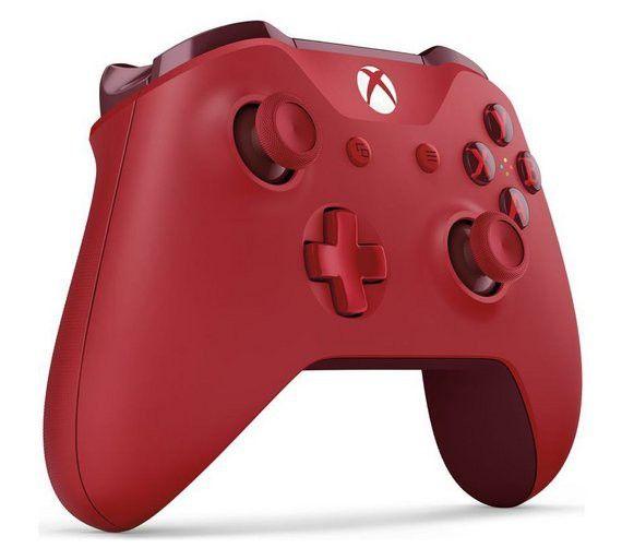 NOWY Oryginalny kontroler Pad Xbox One S Red czerwony zdjęcie 4