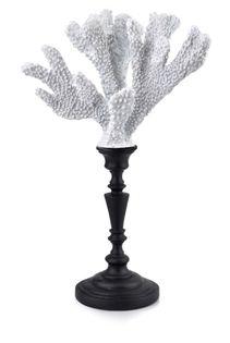 Lumarko Samoa coral white figura 19,5x12,7x31cm