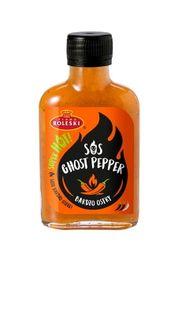 Sos Bardzo Ostry Ghost Pepper 115g