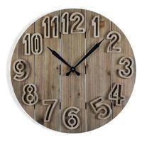 Zegar Ścienny Clement Drewno MDF (60 x 6 x 60 cm)