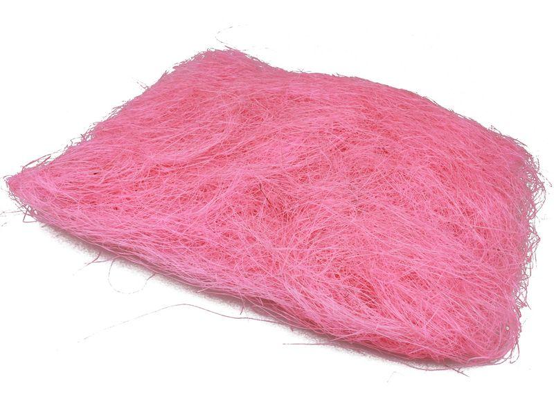 Sizalowe sianko produkt polski, kolor różowy zdjęcie 1