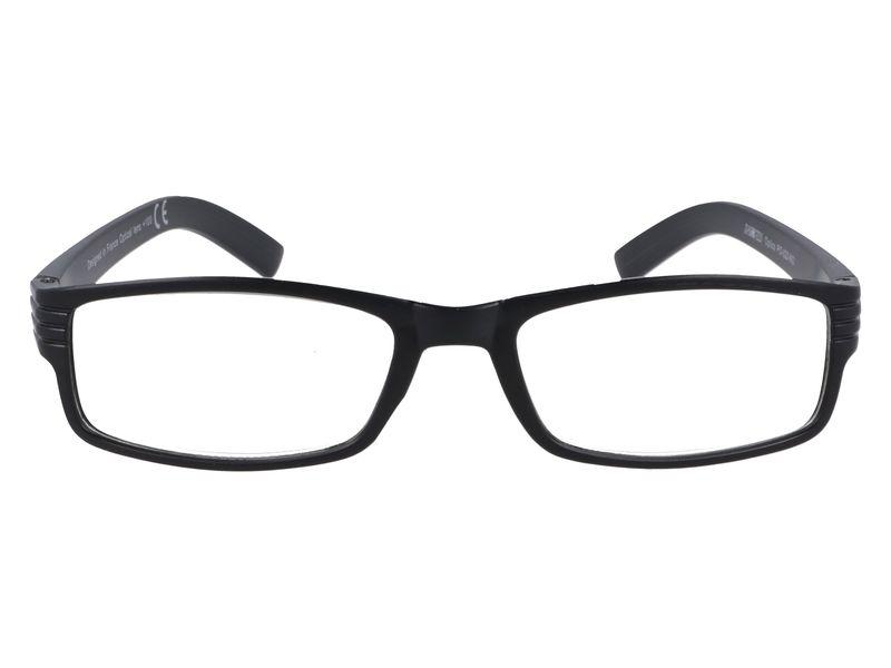 Korekcyjne okulary do czytania czarne plusy +1.00 zdjęcie 4