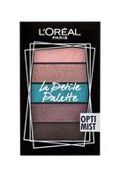 L´Oréal Paris La Petite Palette Cienie do powiek 4g Optimist