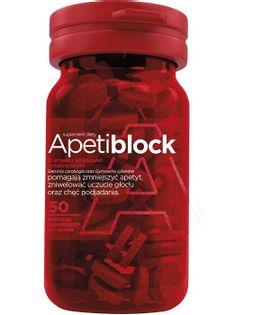 Apetiblock zmniejsza uczucie głodu 50 tabletek