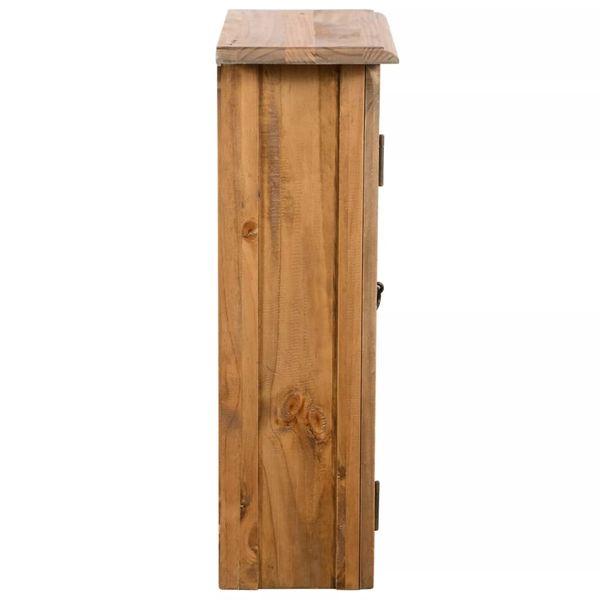 Wisząca Szafka Półka Do łazienki Drewniana 42x23x70cm