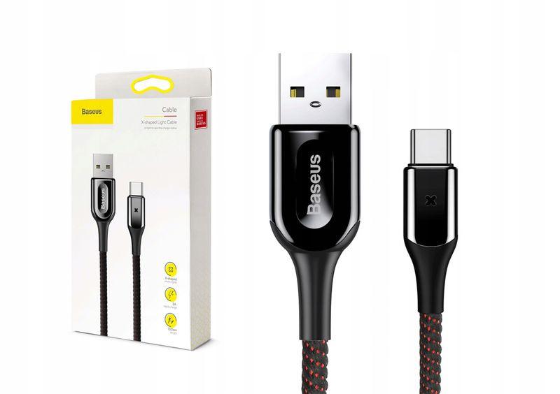 Baseus kabel USB-C Typ C 3A Quick Charge 3.0 100cm zdjęcie 1