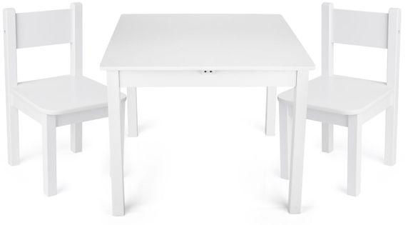"""Stolik z krzesełkami """"Yeti"""" Biały"""