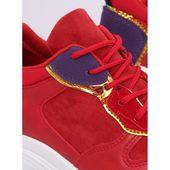 Buty sportowe czerwone CB 19056 RED