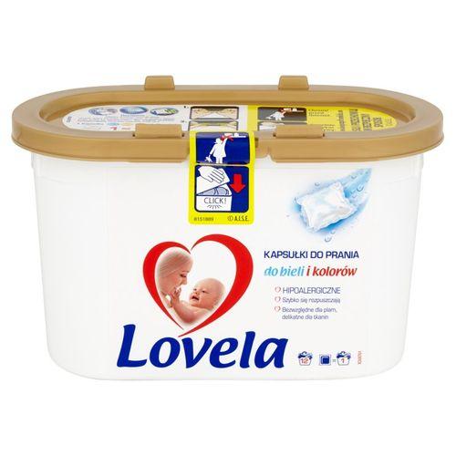 Hipoalergiczne kapsułki do prania bieli i kolorów Lovela (12 sztuk) na Arena.pl