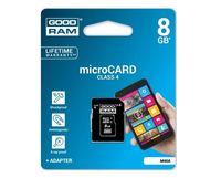 8GB KARTA PAMIĘCI MicroSD GOODRAM MICRO SDHC +ADAP