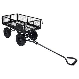 Ogrodowy wózek ręczny czarny 250 kg VidaXL
