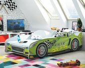 Łóżko AUTO dla dzieci CARS 160x80 + STELAŻ GRATIS zdjęcie 4